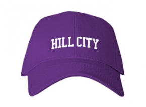 Hill City High School Kid Embroidered Baseball Caps