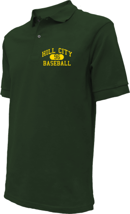 Hill City High School Embroidered Polo Shirts