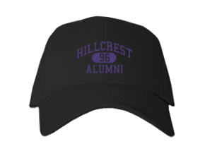 Hillcrest Middle School Embroidered Baseball Caps