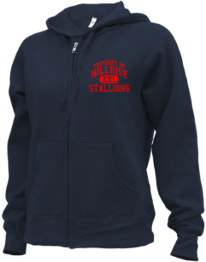 Hillrise Elementary School Zip-up Hoodies