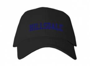 Hillsdale High School Kid Embroidered Baseball Caps