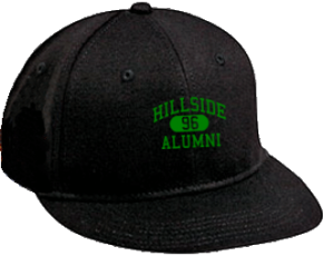 Hillside Junior High School Flat Visor Caps