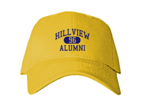 Hillview Middle School Embroidered Baseball Caps