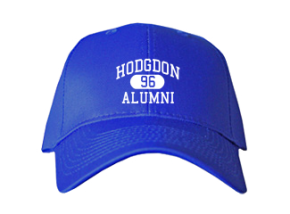 Hodgdon High School Embroidered Baseball Caps