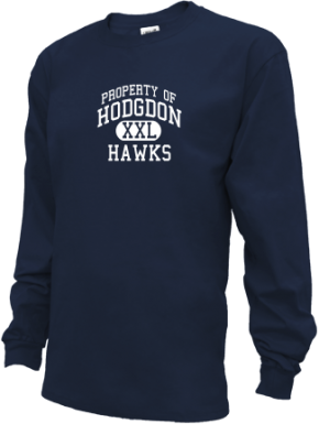 Hodgdon High School Kid Long Sleeve Shirts