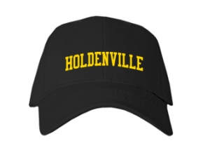 Holdenville High School Kid Embroidered Baseball Caps