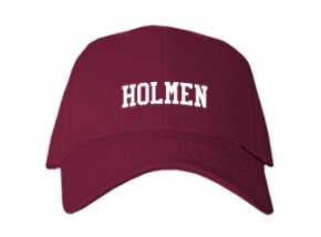 Holmen Middle School Kid Embroidered Baseball Caps