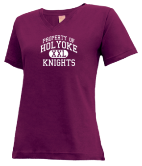 Holyoke High School V-neck Shirts