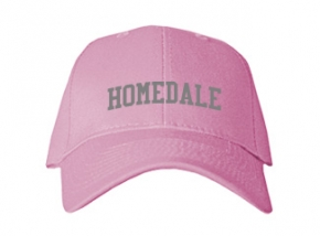 Homedale High School Kid Embroidered Baseball Caps