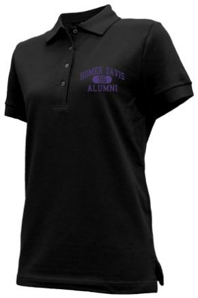 Homer Davis Elementary School Embroidered Polo Shirts