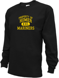 Homer High School Kid Long Sleeve Shirts