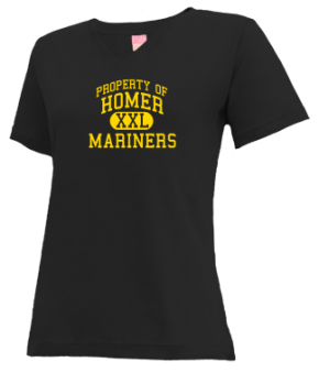 Homer High School V-neck Shirts