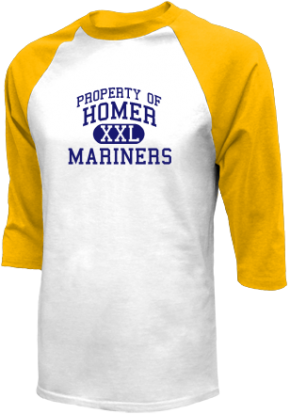 Homer High School Raglan Shirts