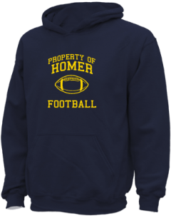 Homer High School Kid Hooded Sweatshirts