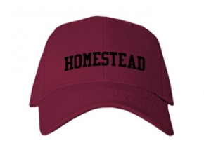 Homestead High School Kid Embroidered Baseball Caps