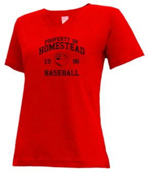 Homestead High School V-neck Shirts