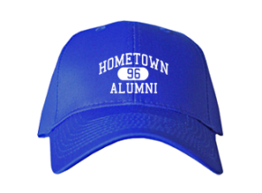 Hometown Elementary School Embroidered Baseball Caps