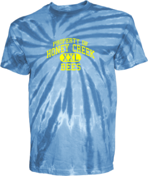 Honey Creek Middle School Kid Tie-dye T-Shirts