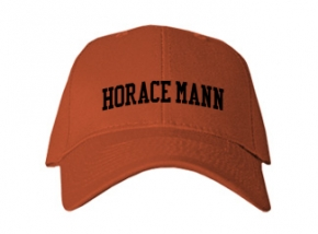 Horace Mann School Kid Embroidered Baseball Caps