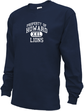 Howard High School Kid Long Sleeve Shirts