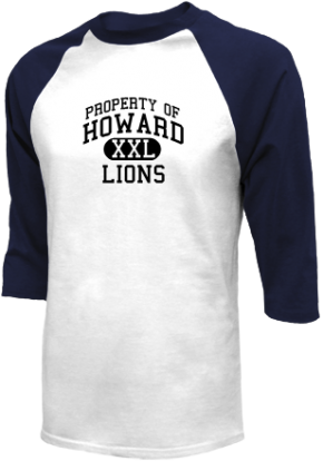 Howard High School Raglan Shirts