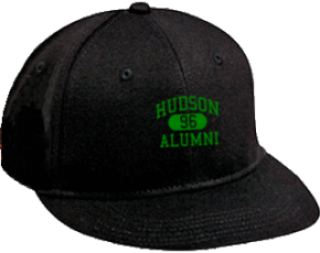 Hudson Middle School Flat Visor Caps