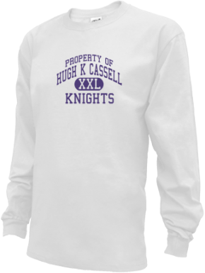 Hugh K Cassell Elementary School Kid Long Sleeve Shirts