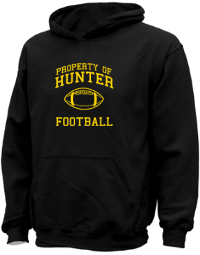 Hunter Elementary School Kid Hooded Sweatshirts