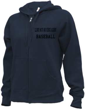 Illinois Math And Science Academy High School Zip-up Hoodies