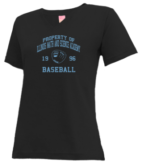 Illinois Math And Science Academy High School V-neck Shirts