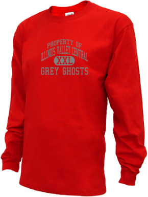 Illinois Valley Central High School Kid Long Sleeve Shirts