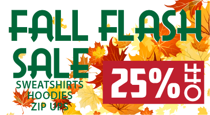 Fall Flash Sale - 25% OFF!