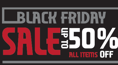 Black Friday Sale - up to 50% OFF!