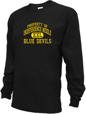 Independence Middle School Kid Long Sleeve Shirts