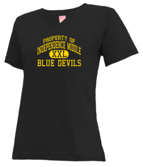 Independence Middle School V-neck Shirts