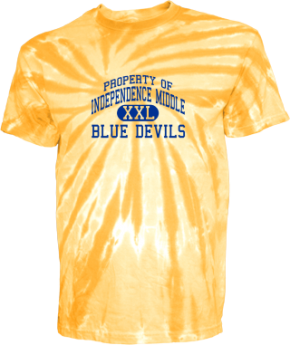 Independence Middle School Kid Tie-dye T-Shirts