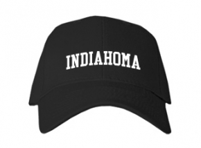 Indiahoma High School Kid Embroidered Baseball Caps