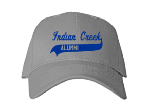 Indian Creek Elementary School Embroidered Baseball Caps