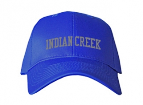Indian Creek Elementary School Kid Embroidered Baseball Caps