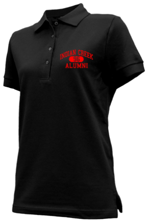 Indian Creek Middle School Embroidered Polo Shirts