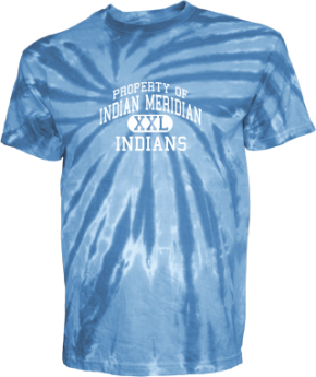 Indian Meridian Elementary School Kid Tie-dye T-Shirts