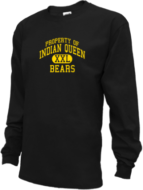 Indian Queen Elementary School Kid Long Sleeve Shirts