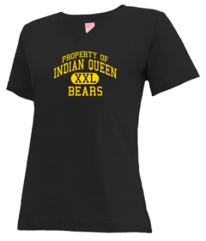 Indian Queen Elementary School V-neck Shirts