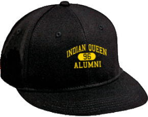 Indian Queen Elementary School Flat Visor Caps