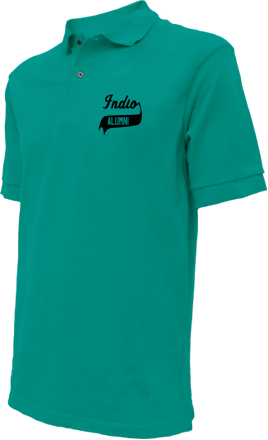 Indio Middle School Embroidered Polo Shirts