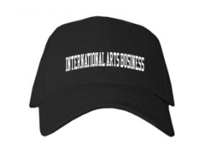 International Arts Business High School Kid Embroidered Baseball Caps