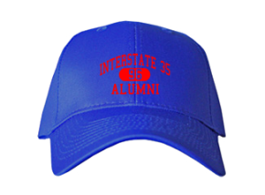 Interstate 35 High School Embroidered Baseball Caps
