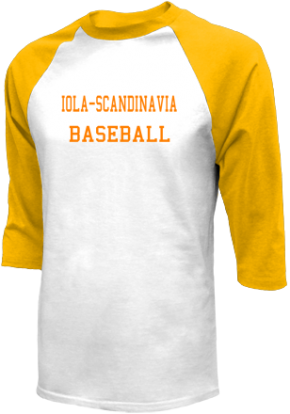 Iola-scandinavia High School Raglan Shirts