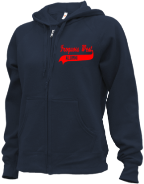 Iroquois West Elementary School/gilman Zip-up Hoodies