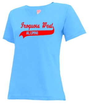 Iroquois West Elementary School/gilman V-neck Shirts